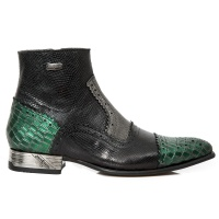NW133-S14 Green Piton Coco ZIP