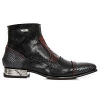 NW133-S7 Piton Negro Zip Boot