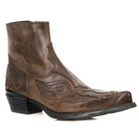 WST004-C4 Alaska Cuero West ZIP Boot