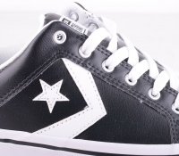 One Star Leather Black/White
