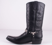 Sheriff Black Leather
