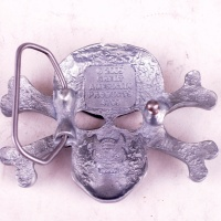 Skull & Crossbone Belt Buckle