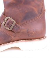 2944 Brown White Sole