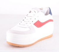 Stay Platform White/Red/Blue
