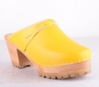 Träsko Traktorsula Yellow