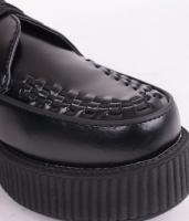 Viva Hi-Sole Creeper BLK Leather