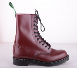 11 Eye Derby Boot Oxblood