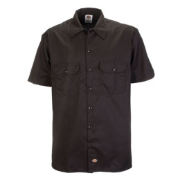 S/S Work Shirt Black 1574