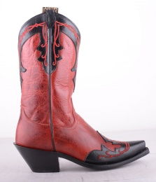4304 Justin Boot Red