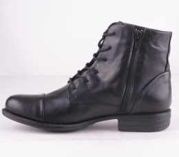 4476-101 Lace Zip Boot Black