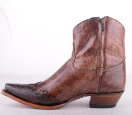6005L Brown Low Zip Boot