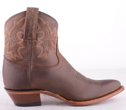6623 Brown Low Boots