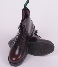 8 Eye Derby Boot Burgundy 551