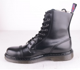 8 Hole Black Polido Strong Front