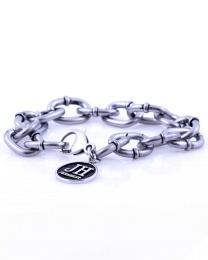 Andy Silver Bracelet