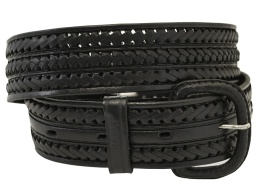 Black Braided Belt (removable buckle)