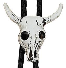 BT-304 Steer Skull Bolo Tie