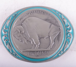 Buffalo Coin Buckle