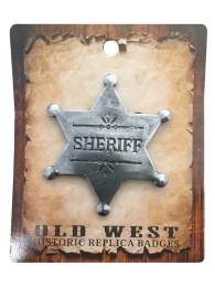 Badge - Sheriff with Floral