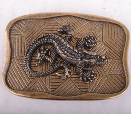 Belt Buckle Crocodile 2581