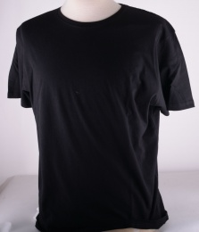 Black Plain Rock Tee
