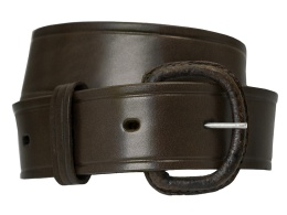 Brown Leather Belt WE