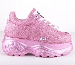 Buffalo London 1338-14 Pink Glitter