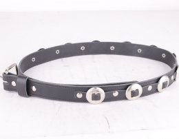 Concho Belt Black 25mm
