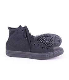 All Star Hi Black Mono