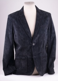 Antonio Suit Jacket Blue Suede Jofama