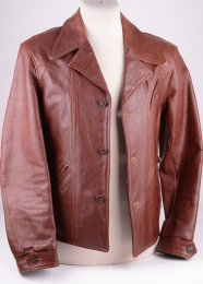 LVC Brown Leather Jacket 2004 collection, Size M (40)