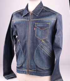 Levi's BLUE Denim Jacket, size M