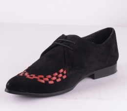 Zoho Black Red Suede Mygg