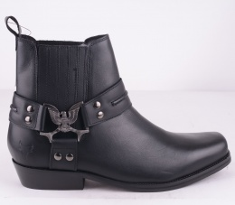 Aquila Black Leather