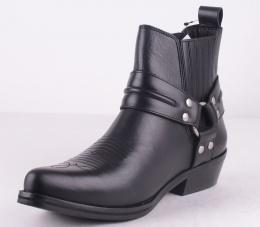 Nebraska Black Leather
