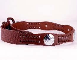 Dark Brown Concho Belt