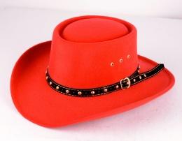 Gambler Hat Red