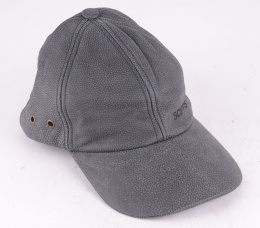 Leather Cap Black