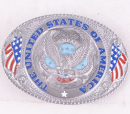 America New Belt Buckle