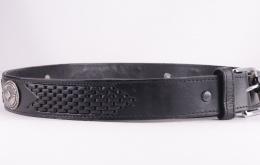 Black Conchos Belt XM163