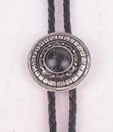 Black Stone Bolo Tie