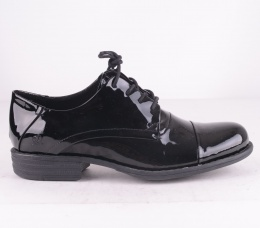6440-010  Lace Shoes Black Lack