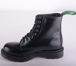 8 Eye Derby Boot Black 551