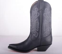 Buffalo Mexican Boots Black