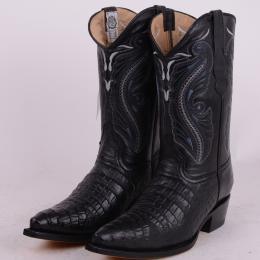 herr boots med hög klack