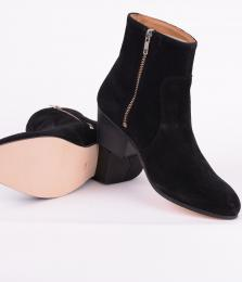 Gracie Zip Boot Black Coffee