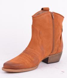 Suede Zip Boot Serraje 97139