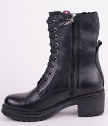 Zip Boot Black 162