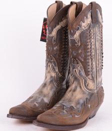 3840 Brown Vintage Size 46