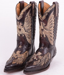 2698 Brown/White Snake Size 36